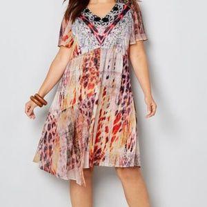 NWT Status & Animal Print Dress